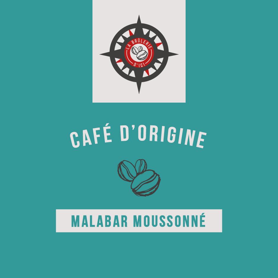Malabar moussonné - Café d'origine