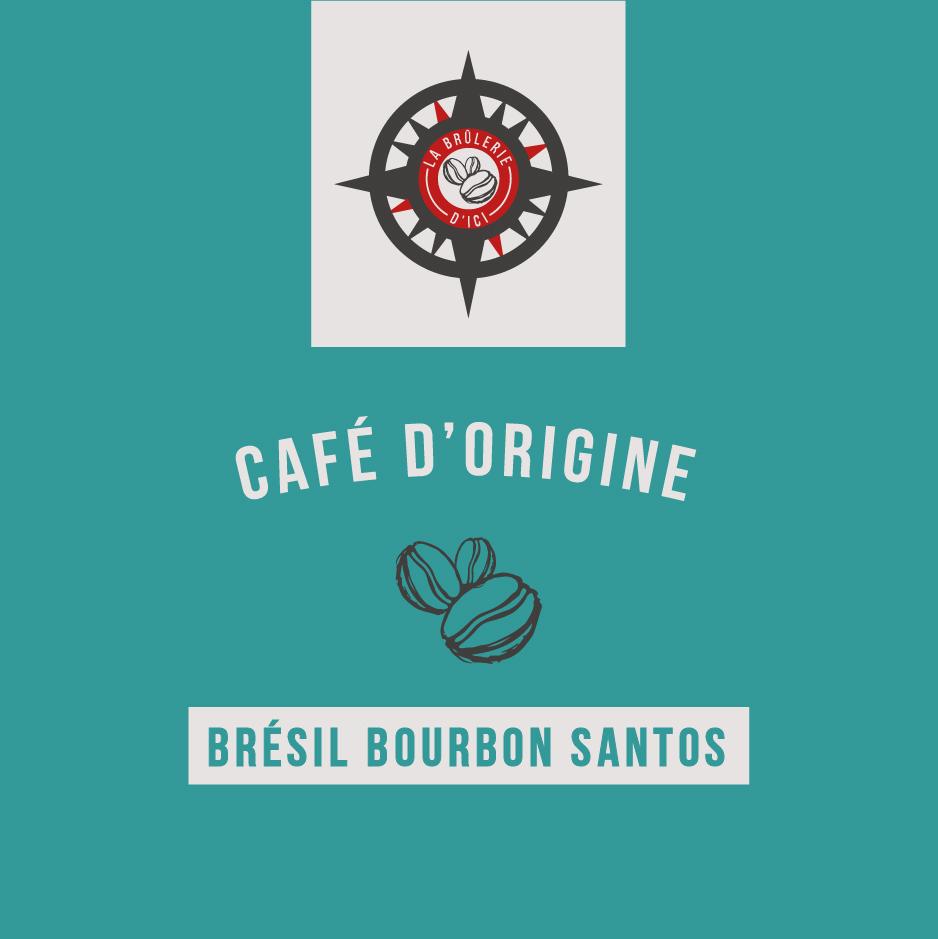Brésil Bourbon Santos - Café d'origine