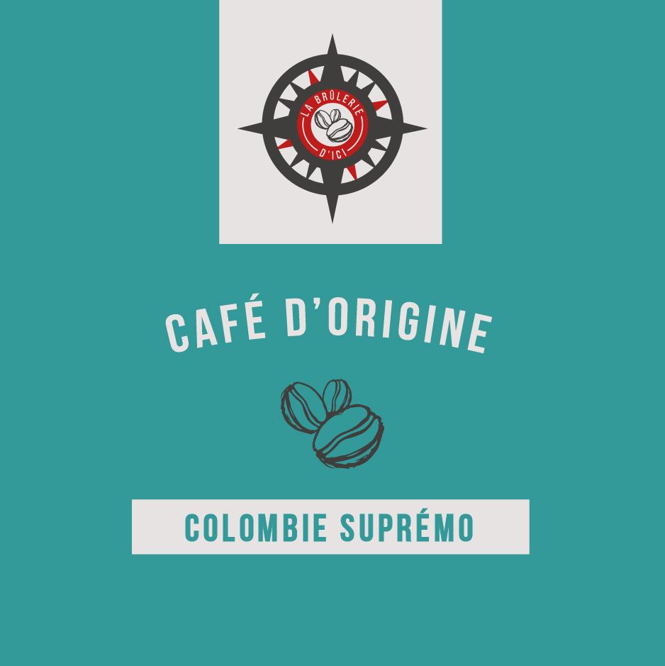 Colombien Suprémo - Café d'origine