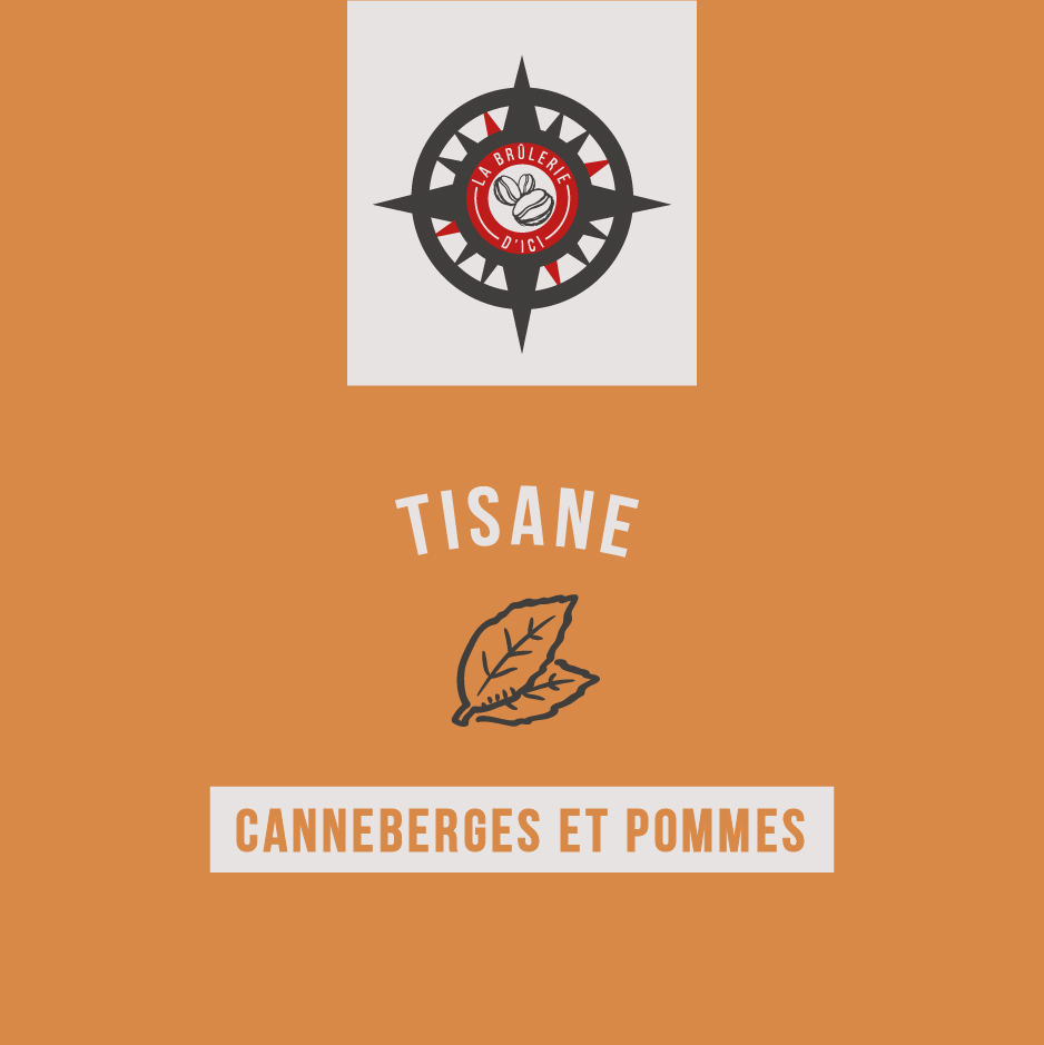 Canneberges et Pommes - Thé et tisane