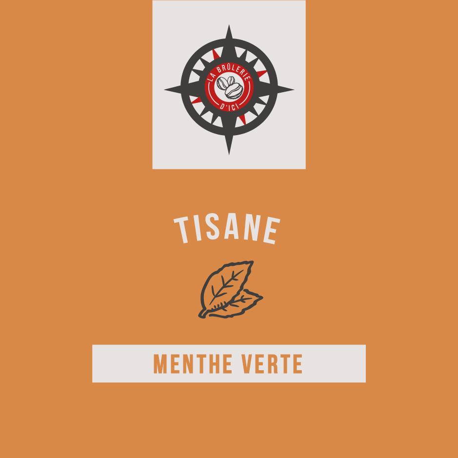 Menthe verte - Thé et tisane