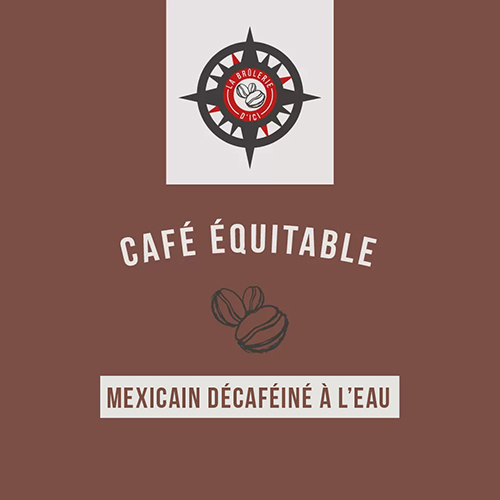 Mexique décaféiné à l'eau - Café équitable
